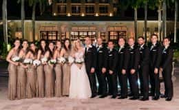 Wedding Party black tie