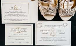Wedding Invitation and wedding day details