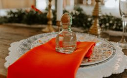 Patron Bottle Wedding Favor