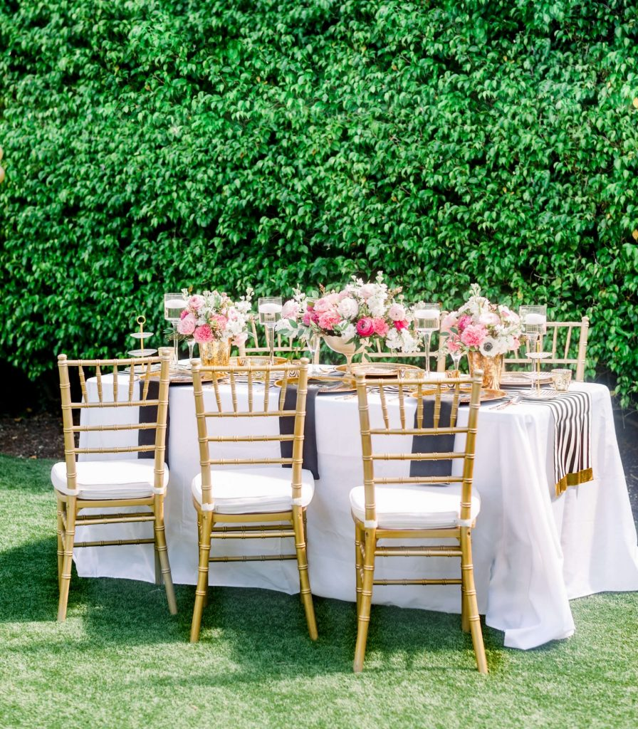 Intimate Table with flowers