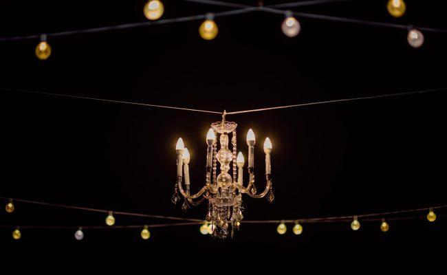 Wedding Lighting and Chandelier